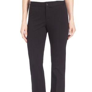 Nydj Michelle ponte trouser black pants 8